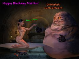 Matthis Birthday Request 2016 by GlobtheSpacetoad