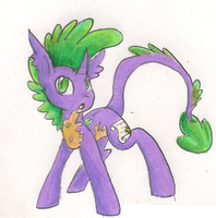 Spike The Pony by angelstar000