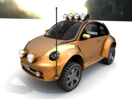 4 x 4 Beetle by ajpennypacker
