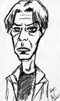 Caricatura de David Bowie 2 by Silwy-whisky