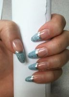 Light Blue and Silver French by M-Everham