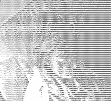 ASCII Animated Mom by skcin7