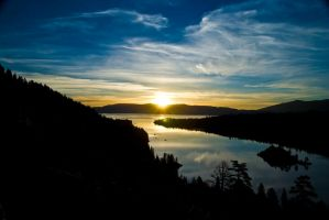 Lake Tahoe Sunrise 3 by Audisportracer
