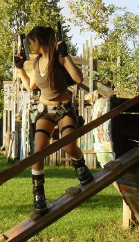 lara croft TR legend by illyne