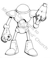 My first Mecha by drakered