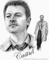 JIB5 ArtProject: Castiel by Sillie