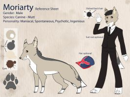 Moriarty Reference Sheet by geheichous