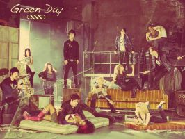 Green Day American Idiot Cast by absense-of-color
