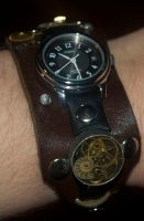Steampunk Watch by Phoenix-Cry