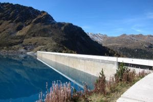 Cleuson Dam by elodie50a