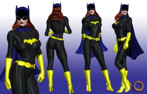 Batgirl Character Sheet by Uroboros-Art