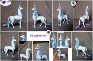 COMM: The Last Unicorn - Sculpture by Escaron