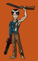 Kevin Thompson as Ash Williams by BloodyWilliam