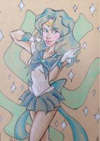 Sailor Neptune by Ghoulsnap