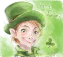 St Patrick's Day--speed- by Pika-la-Cynique