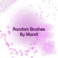 Random Brushes by MandiMoore87
