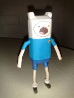 Adventure Time Papercraft - Finn (and Jake) by LightningChrono