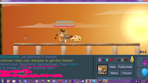Cheese Lover :Screenshot - Dappledrose: by EtheTheKitteh