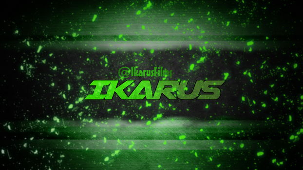 IkarusFilms - Youtube banner - Nuclear grunge by k0rus