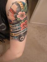 My 3rd Tattoo (Pic 1) by SteffiSyndrom