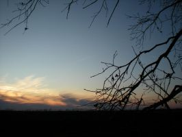 The sunset of Hungary. by RikuBlindFox