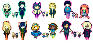 pixel babies batch by ms-villeroy