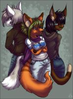 Kit, Sug and Jen by sugar-cat-candy