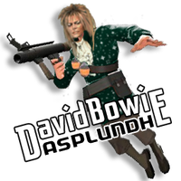 Bowie Soldier Spray (for David Bowie Asplundh) by JayFordGraphics