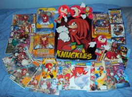 Knuckles The Echidna Collection by PanicPagoda