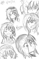 Renna sketch dump #1 (MORE TABLET PRACTICE!!!) by MinionKing
