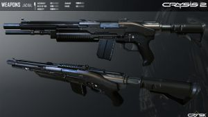 Crysis 2 Jackal Semi-Auto Shotgun by Scarlighter