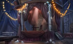 Harolds Stage, hidden object game/hopa game by novtilus