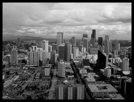 Seattle from 520' by endosage