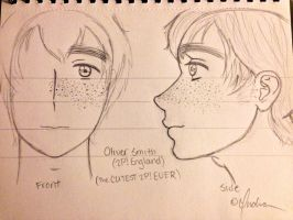 My Oliver Smith (2P! England) Sketch-Out by Myindiansummer