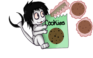 Worm jeff vs box of cookies ::art trade:: by Abundant-Chaos