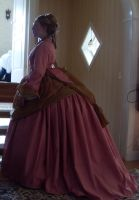 1869-74 dress by LadyCafElfenlake