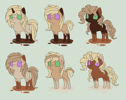 BeanyXSwag Inky adopts - CLOSED by theWeaverofTales