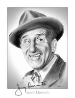 Jimmy Durante by gregchapin