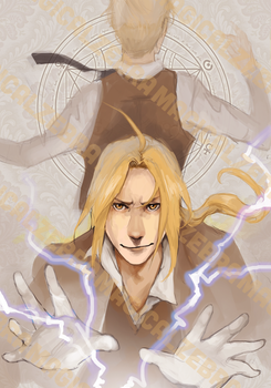Elric Brothers by magicalzebra