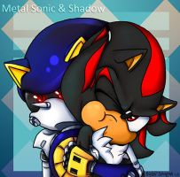 Metal Snuggles Shadow by tentenswift