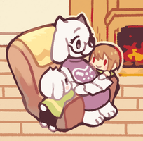 With mommy by goodnightherb