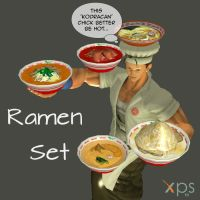 Ramen (Pack) by KoDraCan