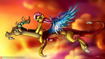 Fly with Harmonic Colors by Neko-me
