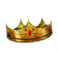 Large King Of lightning logo PNG by Kidney-Shots