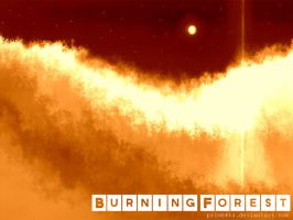 Burning forest by prime512