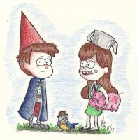 Over the Gravity Falls by WhotheGhost