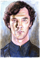 Mr. Cumberbatch by lidiaBartlam