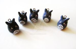 My Neighbor Totoro Charms by mAd-ArIsToCrAt