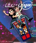 Johnny and Jun's Excellent Adventure by ajhockham