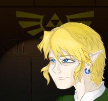 Link is flustered? by Silver-the-kid